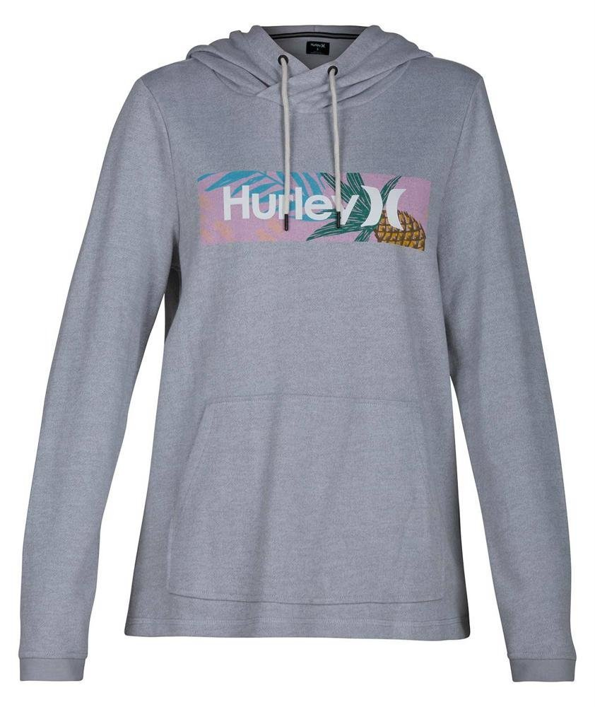 Hurley Womens Cruise Pullover BQ7924, Wolf Grey, L
