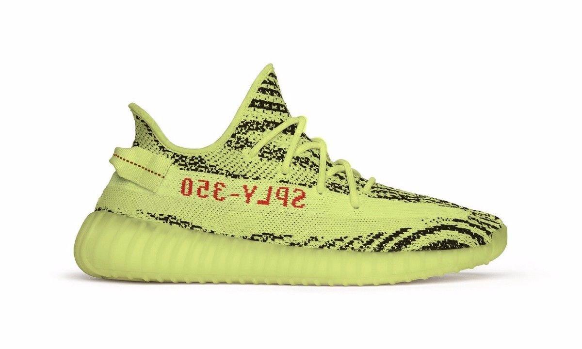 adidas YEEZY BOOST 350 V2   Semi Frozen Yellow  (アディダス イージーブースト 350 V2   セミフローズンイエロー  ) #B37572 B077W8726D 28cm(US10)