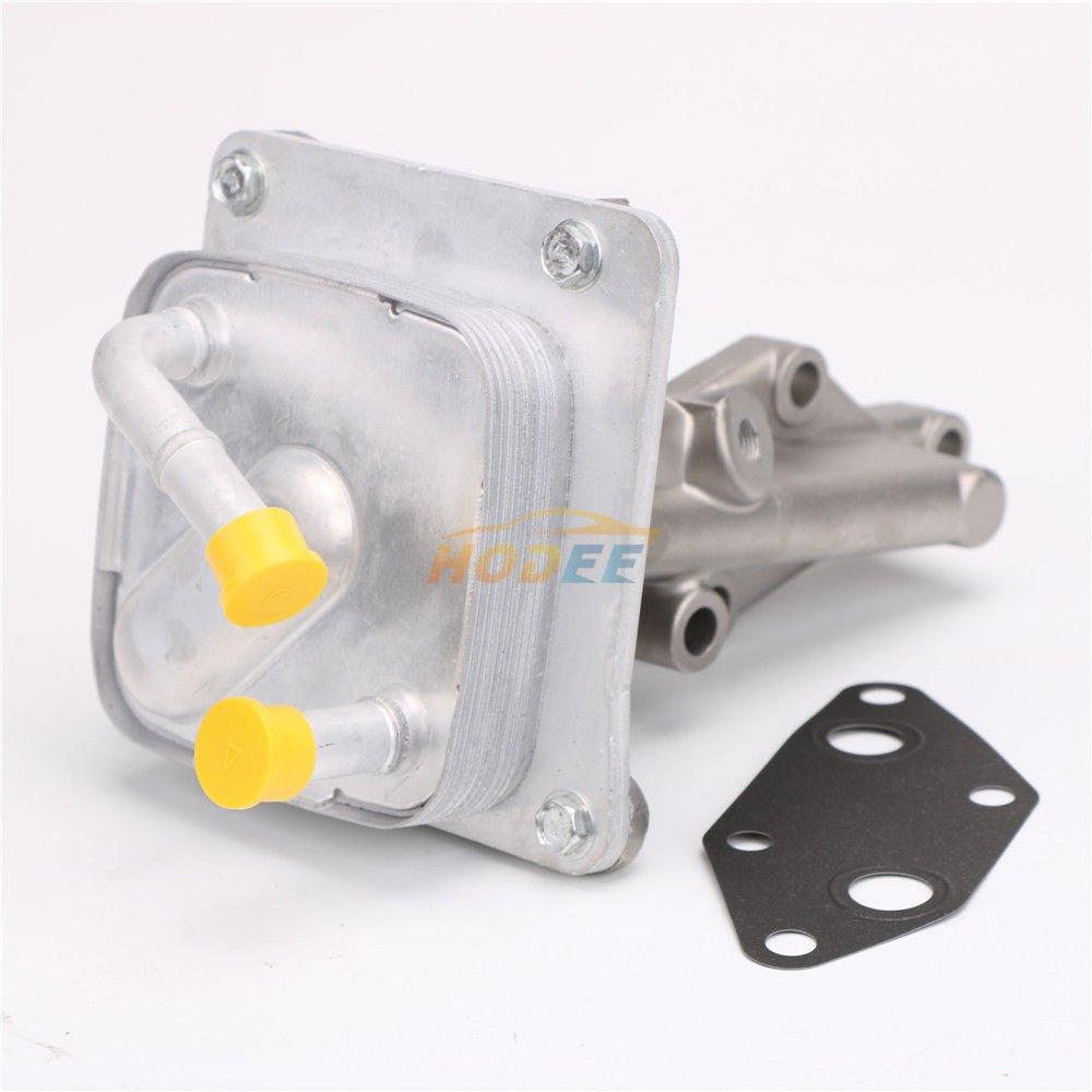 ENGINE OIL COOLER 21300-JA06A 21300-JA05A FOR 07-12 NISSAN ALTIMA//SENTRA 2.5L