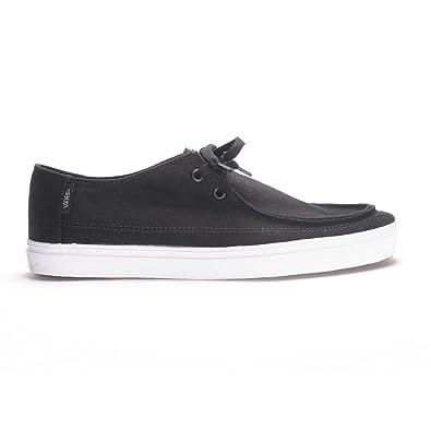 78c27790a5 Vans Rata Vulc SF Black Frost Gray Mens Shoes (7 Men s