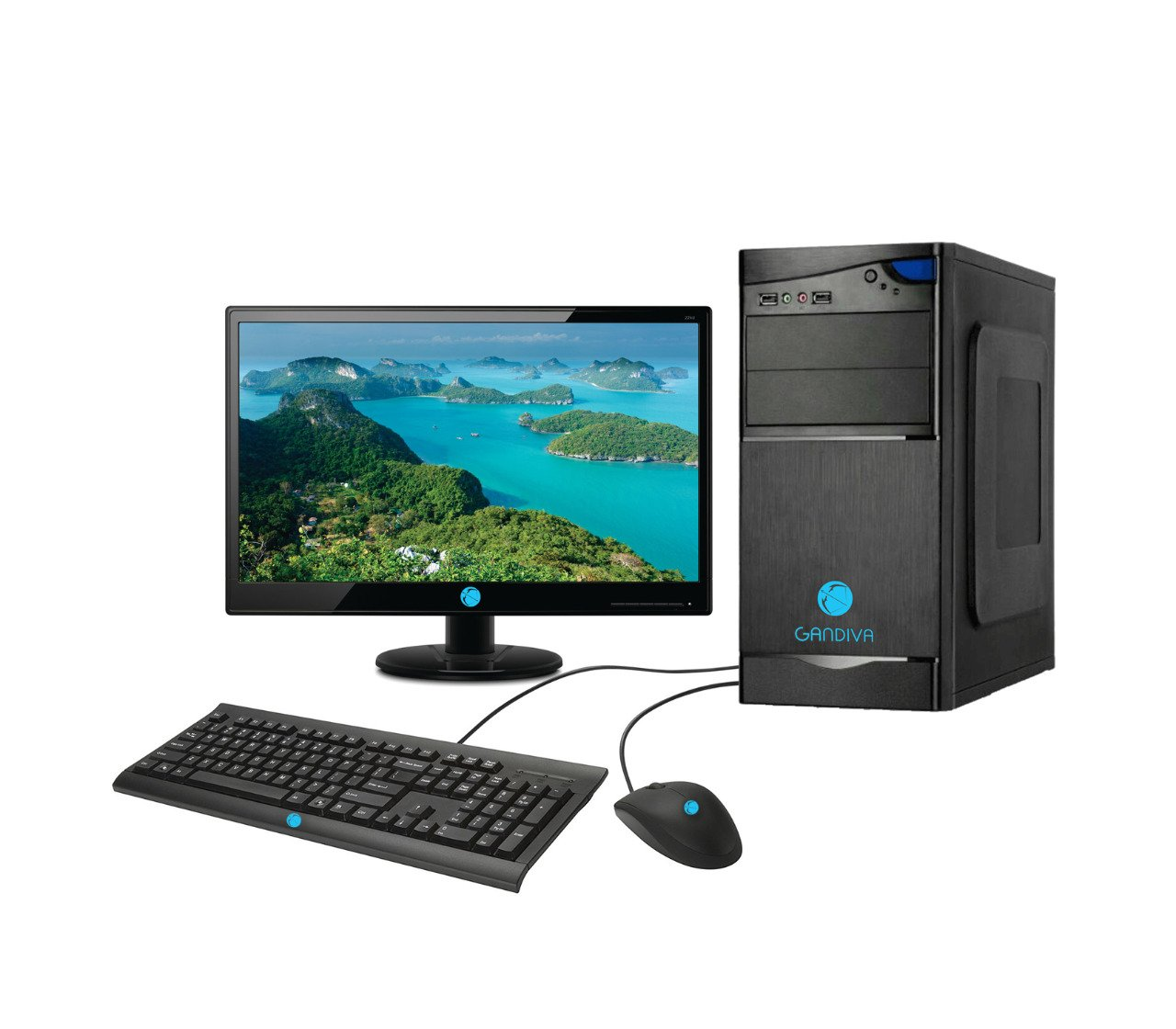 GANDIVA 18.5-inch All-in-One Desktop (Intel Core i5 1st