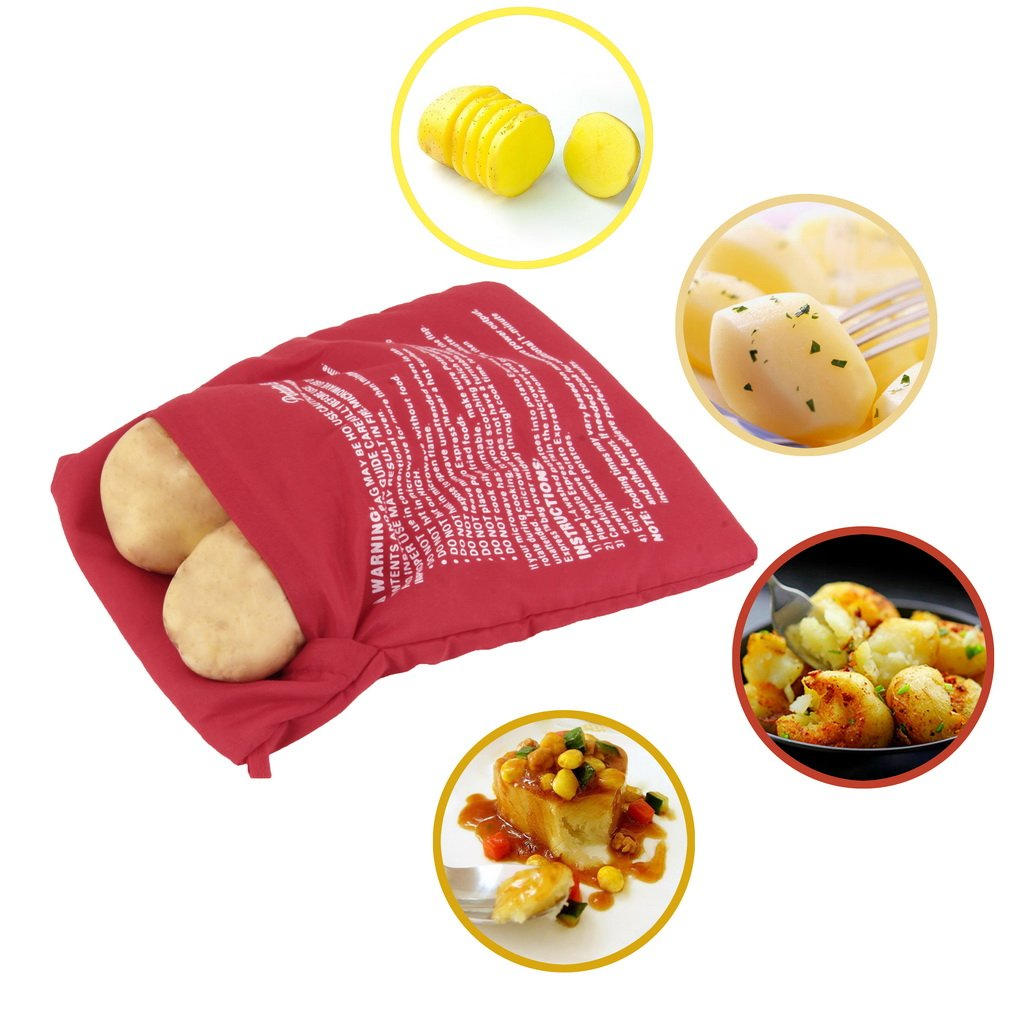 Amazon.com: cozime patata Callos Pan Microondas Cocina Bolsa ...