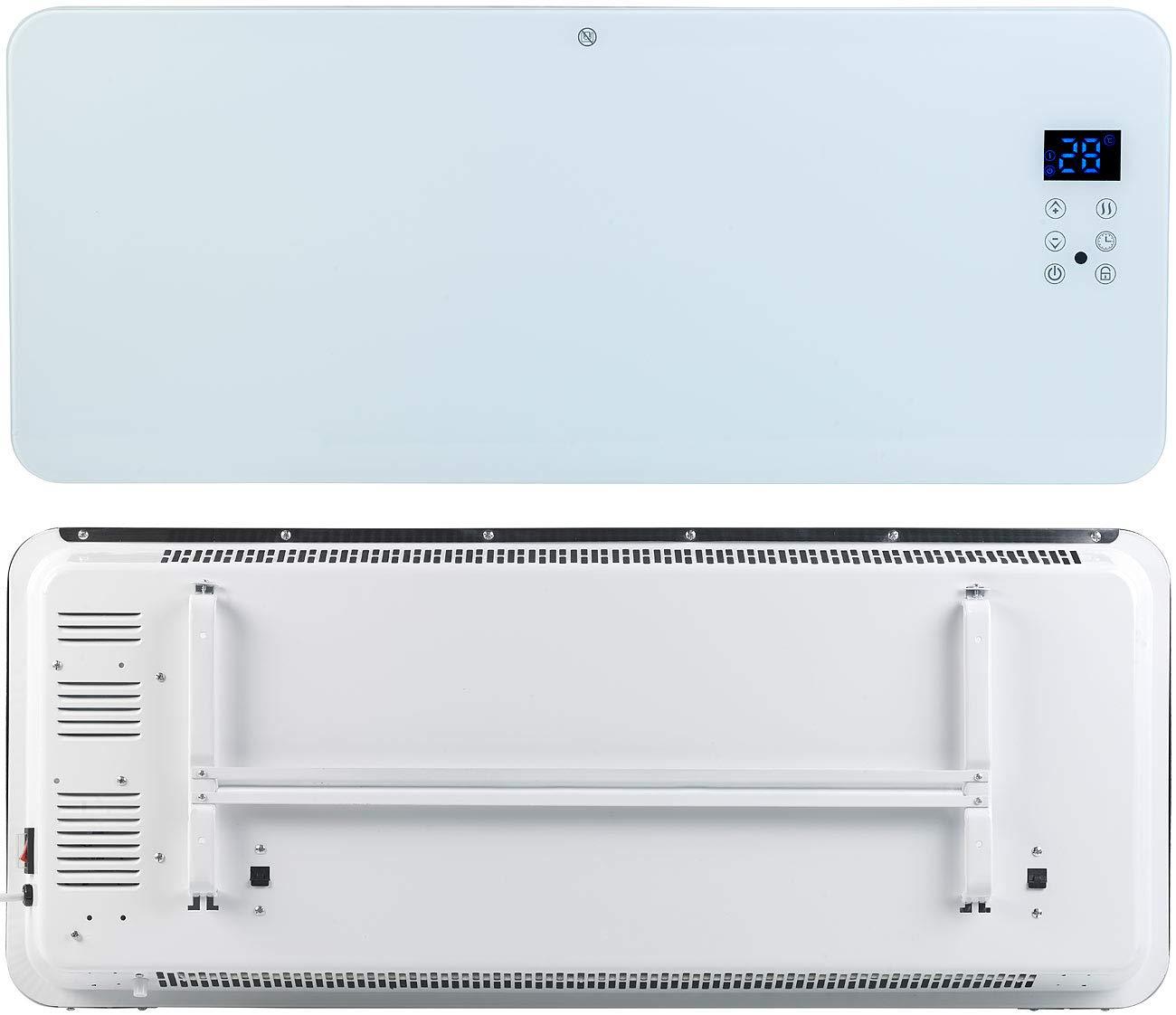 Sichler Haushaltsger/äte Elektro Heizung: Konvektor-Heizung mit App 2000 W f/ür  Alexa /& Google Assistant Standheizung