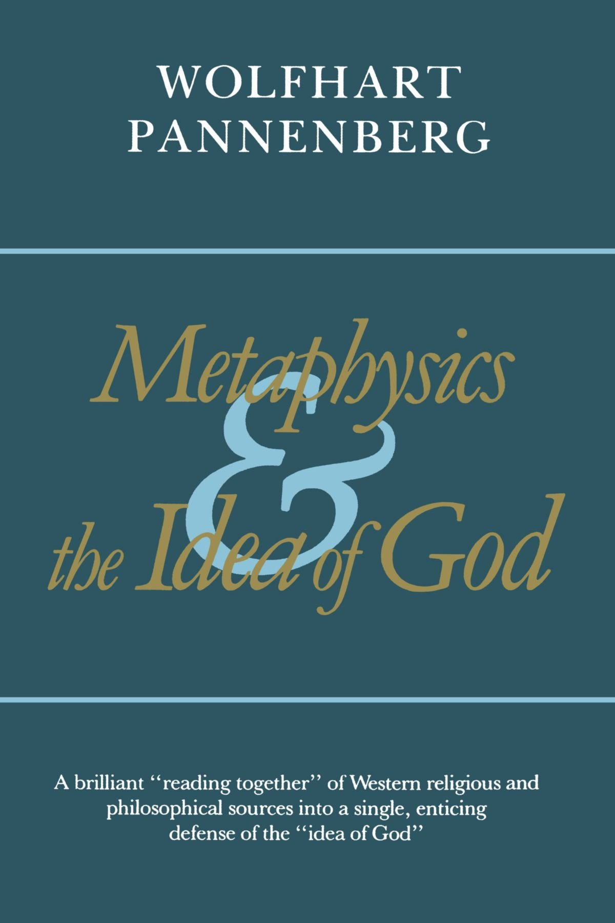 Metaphysics and the Idea of God pdf