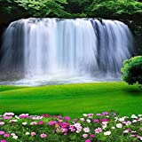 Amazing Waterfall 10' x 10' CP Backdrop Computer Printed Scenic Background GladsBuy Backdrop XLX-641