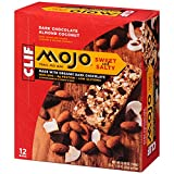 CLIF MOJO -  Trail Mix Bar - Dark Chocolate Almond Coconut - (1.6 Ounce Snack Bar, 12 Count)