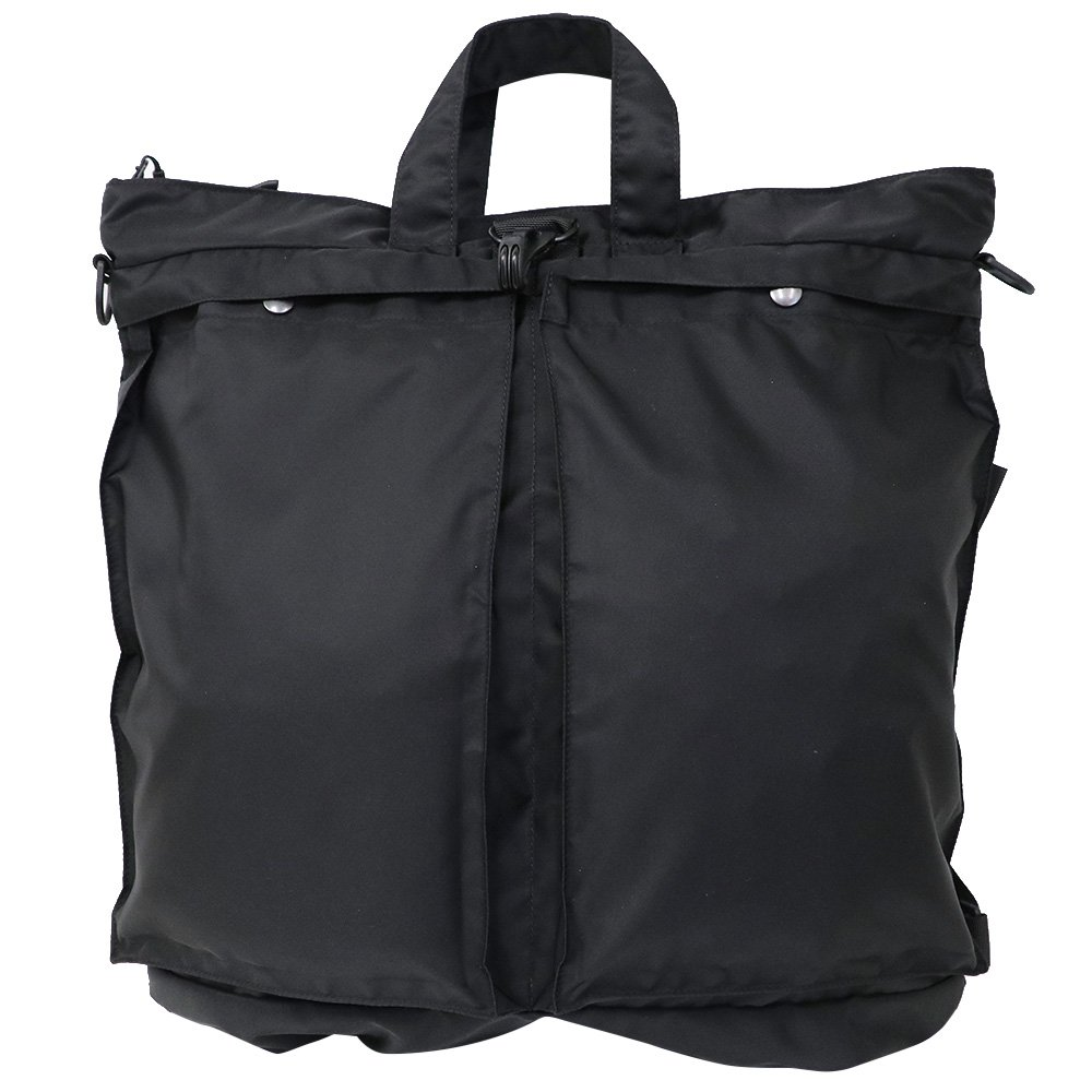 (バッグジャック) BAGJACK『3Way helmet bag』(Black) B071RD3HXX ブラック Free Size