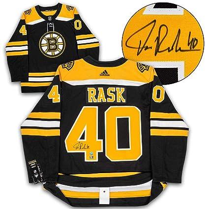 731d7a29 Tuukka Rask Autographed Jersey - Adidas - Autographed NHL Jerseys at ...