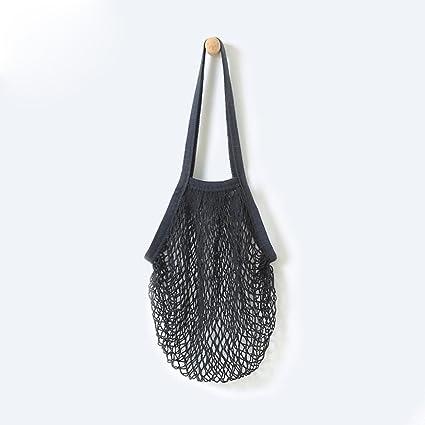70671c202 Keepwin String Shopping Bag Long Handle Portable/Washable/Reusable Net  Shopping Tote String Bag