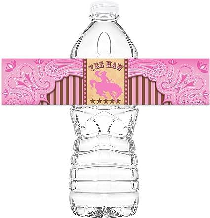 Cowgirl AR Happy Birthday Banner Pennant by POP parties POP parties by Gwynn Wasson Designs