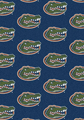 - American Floor Mats Florida Gators NCAA College Repeating Team Area Rug 5'4