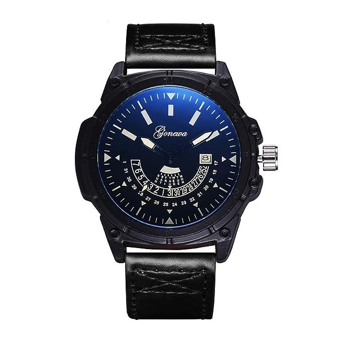 Rcool Relojes suizos relojes de lujo Relojes de pulsera Relojes para mujer Relojes para hombre Relojes deportivos,Reloj deportivo Militar Fecha analógica ...