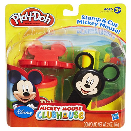 Stamp and Cut Play-Doh Mickey Mouse Clubhouse Set (Sesame Street Clubhouse)