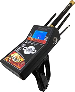 GER DETECT Gold Hunter Professional Geolocator Long Range Metal Detector - Underground Depth Scanner, Geolocation