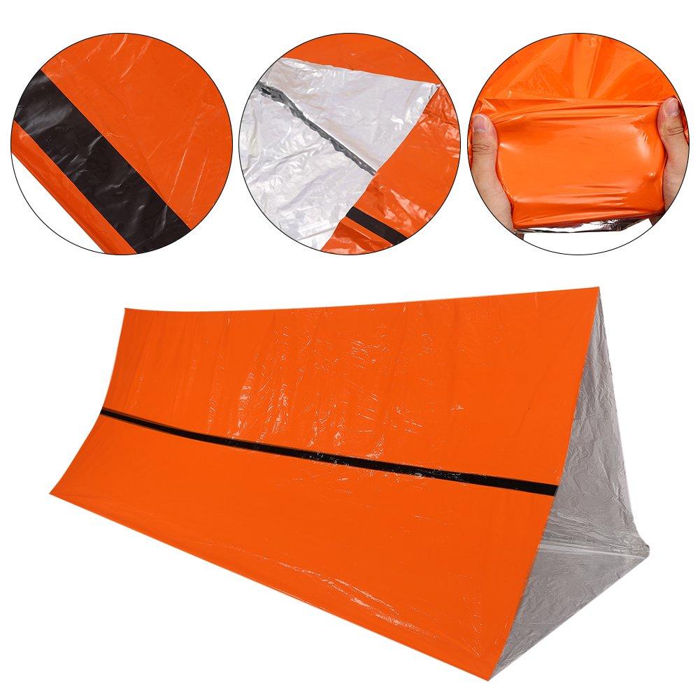 Al Aire Libre Tienda de Supervivencia Militar Plegable Refugio de Rescate de Emergencia Sugoyi Refugio de Rescate t/érmico Impermeable Manta t/érmica