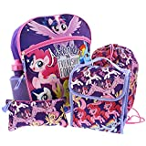 My Little Pony 5 piece Backpack School Set