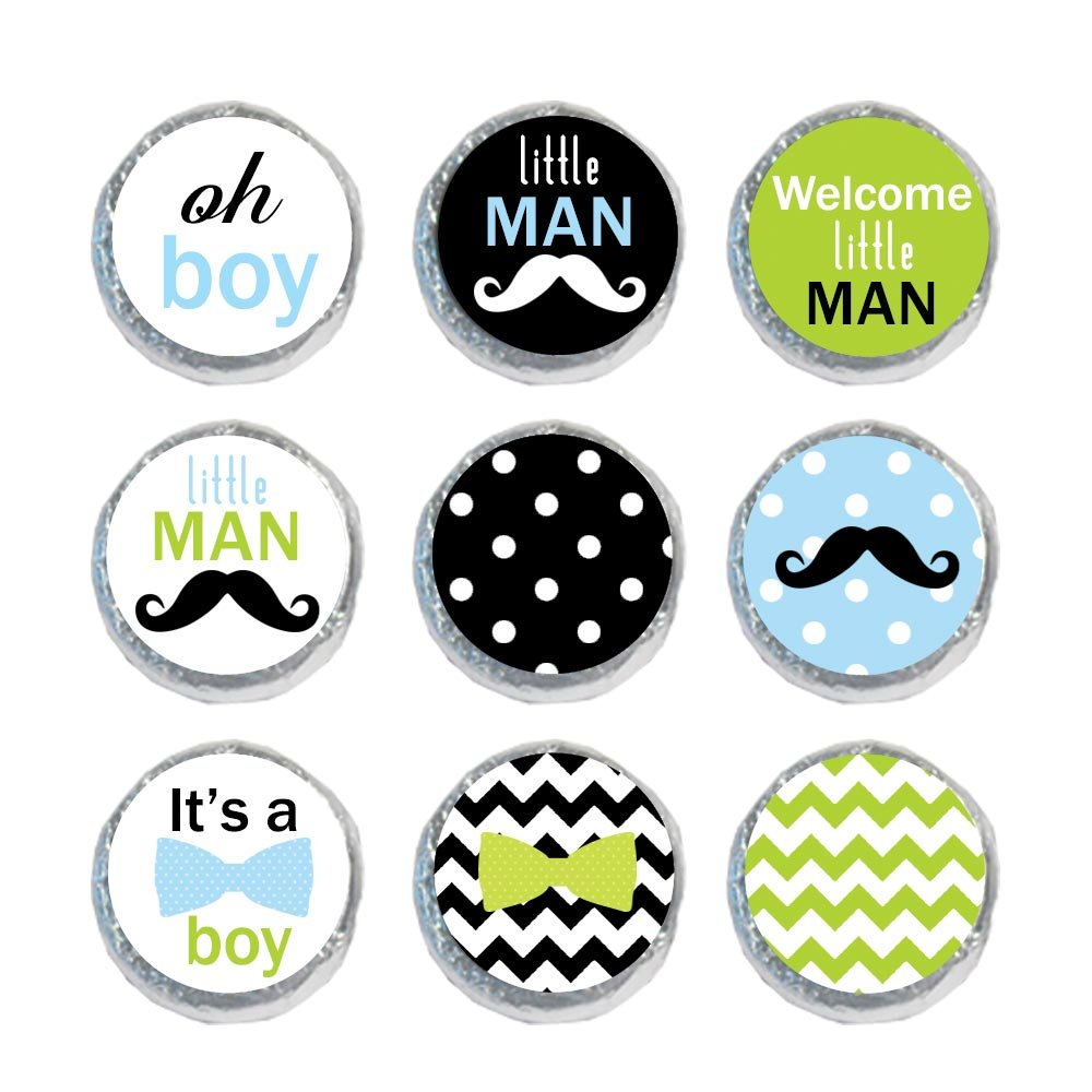 Amazon com mini candy stickers little man set of 324 health personal care