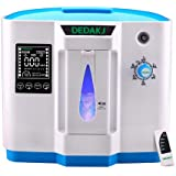 HUKOER Portable Homecare Oxygen Bar Machines Ox-ygen Con-centrator,1-6L/min Adjustable