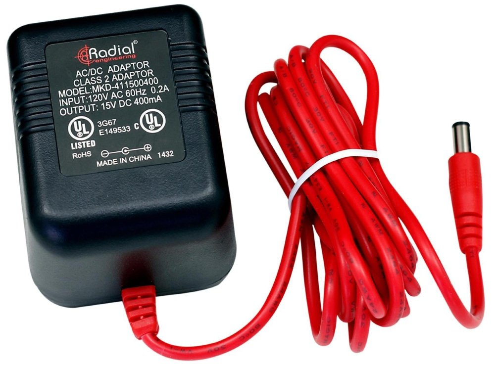 Radial Engineering R15DC-US 15V Power Supply by Radial Engineering