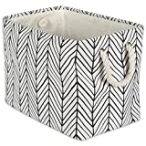 """""""Take Back Your Space with DII Storage Bins   Polyester storage bins are a fun and creative way to organize and store toys, clothes, blankets, towels, books, knick knacks and more. Tired of clutter in the kids room, living room, or laundry r..."""