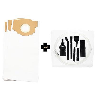 3de remplacement Eureka 4872bt Sacs aspirateur avec 7pièces Micro sous vide kit de fixation–Compatible Eureka Style RR Sacs pour aspirateur