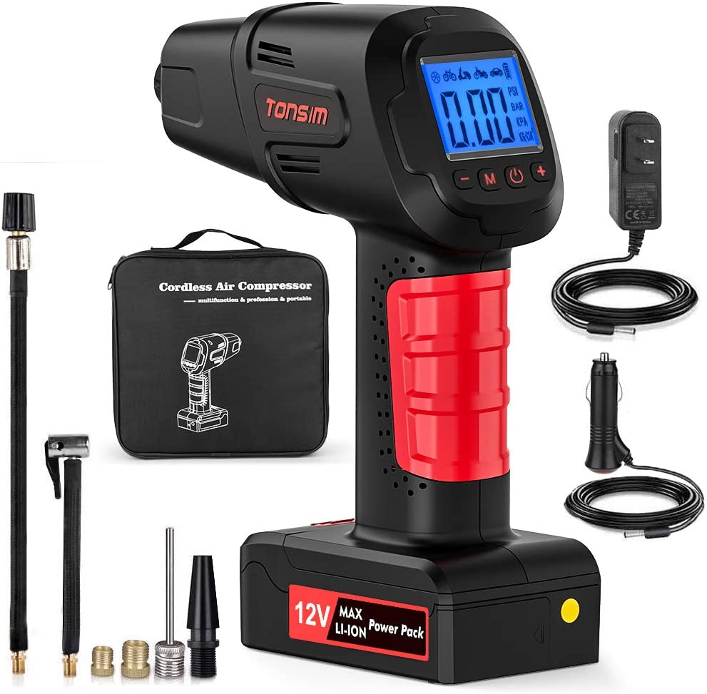 Amazon coupon code for Portable Smart Cordless Tire Inflator Pump