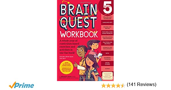 Brain Quest Workbook: Grade 5: Bridget Heos, Matt Rockefeller ...