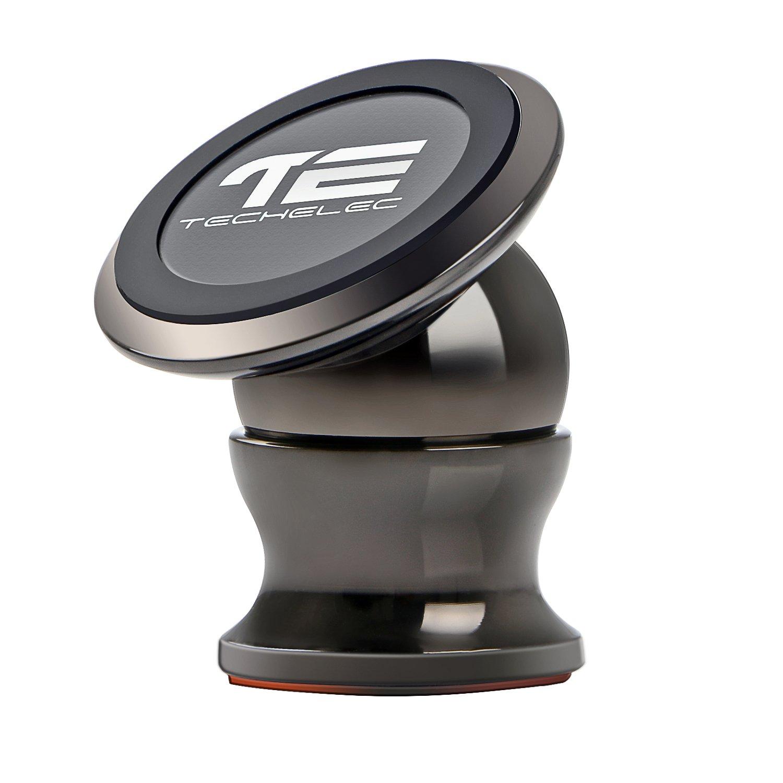 TechElec Soporte Movil Coche Sostenedor Magnético de Teléfonos Móviles Rotación de grados
