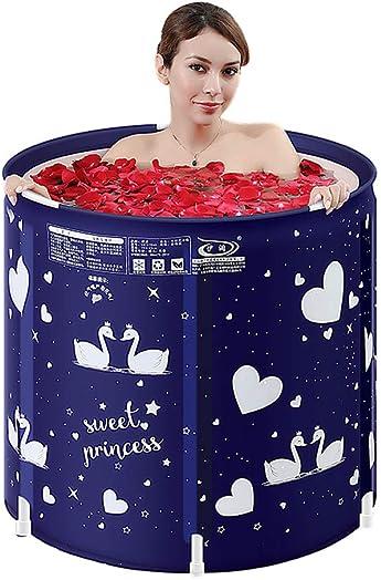 Household Thickened Inflatable Bathtub Portable Bracket Plastic Soaking Tub Folding SPA Bath Tub