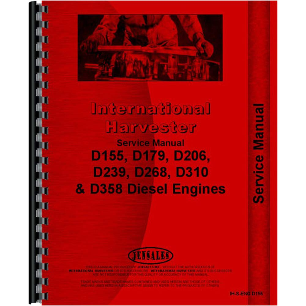 Amazon.com: New Manual Kit Made for Case-IH Tractor Models 385 454 464 484  504 574 584 674 +: Industrial & Scientific