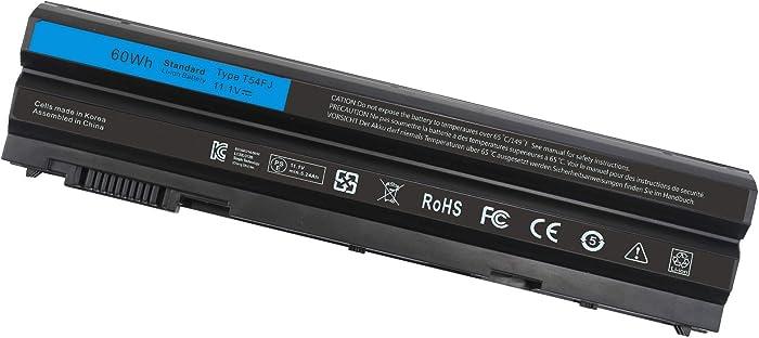 T54FJ 8858X M5Y0X E6420 E6430 Laptop Battery for Dell Latitude E5420 E5430 E5520 E5530 E6530 E6520 Inspiron 14R 4420 5420 15R 5520 7520 17R 5720 7720 T54F3 X57F1 0T54FJ KJ321 N3X1D P15F P15G P16G