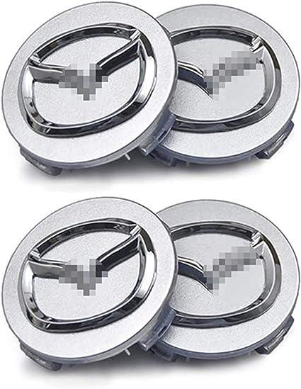 Nadaenta 4x Auto Felgenkappen Nabenkappen Felgendeckel Radnabe Centre Cap Für Mazdas 5 6 323 626 Rx8 7 Mx3 Mx5 Autodekorationsteile Verwendet Küche Haushalt