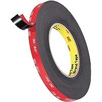Geli 3M Waterproof Double Sided Tape Heavy Duty Mounting Tape,0.4 Inch Width Foam Tape for Car LED Strip Lights Home…