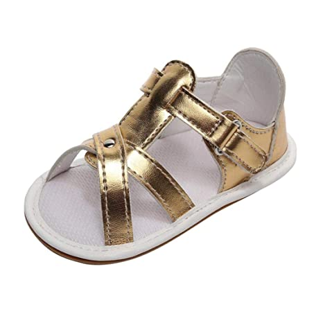 13c63c9323c Buy Voberry  Voberry  Unisex-Baby Pu Leather Strappy Tassel Gladiator  Summer Sandals First Walker Shoes Online at Low Prices in India - Amazon.in