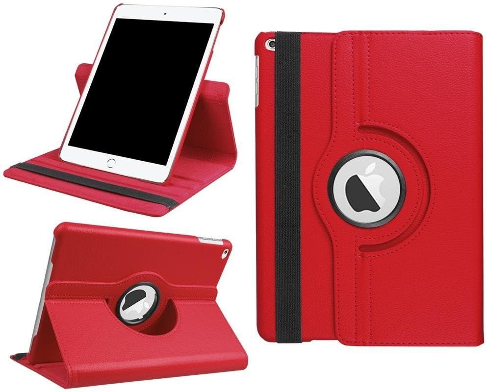 DETUOSI iPad 9.7 Case 2018 6th/2017 5th,iPad air/iPad air 2 Tablet Case,360 Degree Rotating Folio Smart Cove for iPad 6th Gen iPad 5th Gen iPad air iPad air 2 9.7