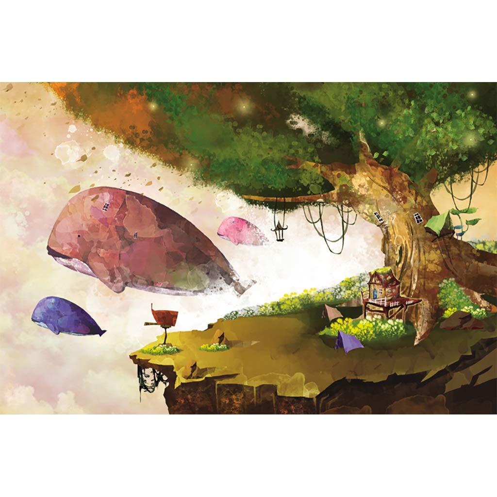 FEI HOME FlyingPT Flying Whale Fantasy Painting Series, Holzpuzzle , Reichhaltige Farbe Dreamland Art, Perfekter Schnitt und Passform 3001000er Boxed Toys Spiel für Erwachsene & Kinder PT0327 B07Q2F4M35 Holzpuzzles Ausgezeichneter Wert | Lebhaft