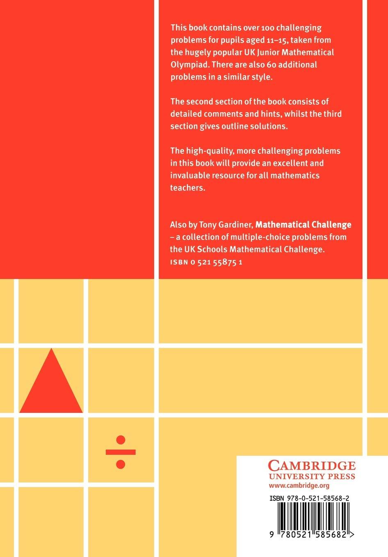 More Mathematical Challenges: Amazon co uk: Tony Gardiner