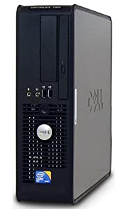 Dell Optiplex 780 SFF Desktop PC - Intel Core 2 Duo 3.0GHz 4GB 160GB Windows Pro (32bit) (Renewed)