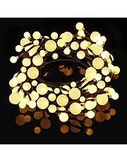 Catena Luminosa Decorativa con 72LED Stringa Luci Albero Filo Luci per Interno e Esterno Catena di Luce con 8 Modalità di Illuminazione da 5 metri per Camera, Natale, Halloween, Matrimonio, ecc
