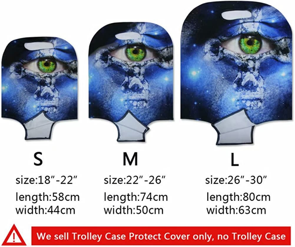 Instantarts Cute 3D Bernard Luggage Protector Suitcase Cover 18-30 Inch for Children