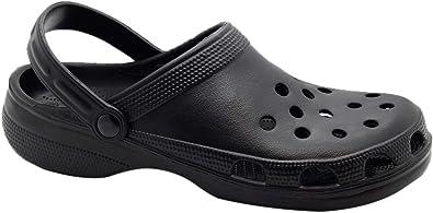 Men Unbranded Clogs Shoes Black UK Size