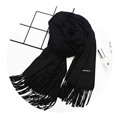f86072988 hot sale 2019 women winter scarves shawls cashmere scarf, black at ...