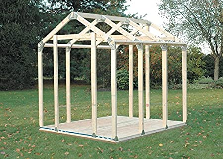 Amazon.com : Hopkins 90192 2x4basics Shed Kit, Peak Style Roof : Storage  Sheds : Garden U0026 Outdoor