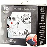 Savvy Travelers - Eyeglasses, Screens and Lens Cleaning Individual Wipes - 10 Ct - On the Go