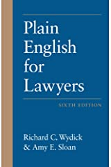 Plain English for Lawyers, Sixth Edition Kindle Edition