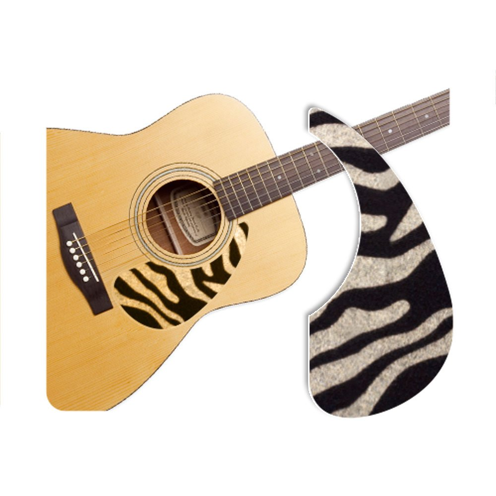 [Healing Shield] Basic Type Zebra-A プレミアム アコースティックギターピックガード   B00JB2U5GC