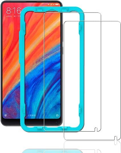 Ibywind Protector Pantalla Xiaomi Mi Mix 2S [2 Piezas] [Fácil de ...