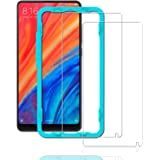 [SET 2 PEZZI] Xiaomi Mi Mix 2S Screen Protector,**Con Applicatore Gratis Senza Bolle** Ibywind Pellicola Protettiva in Vetro Temperato [Anti-Impronte] Per Xiaomi Mi Mix 2S - Transparente