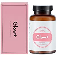 Fusion Naturals - Glow - Natural Skin Supplement - 60 Capsules - Improve Skin Elasticity, Increase Hydration, Decrease Lines & Wrinkles