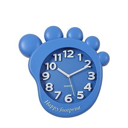 Dibujos animados Colgante Dormitorio Mute Reloj Cute Reloj Niños Especiales Reloj Dormitorio De Sala De Dormitorio